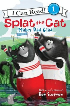 Splat the Cat Makes Dad Glad (I Can Read Level 1) >>> Click on the image for additional details.