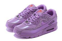 Nike Air Max 90 Purple Runing Shoes