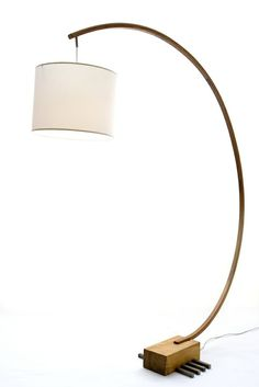 Bow Lamp by Greenwood   new floor lamp in living room???