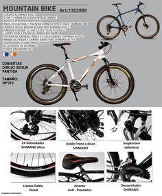Bicicleta Mountain Bike 26 Aluminio Shimano Disco Garantia - $ 7.650,00 en…