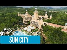 Sun City is a luxury resort and casino, situated in the North West Province of South Africa. It is located between the Elands River and the Pilanesberg, abou. Best Resorts, Hotels And Resorts, Holiday Resort, Holiday Fun, Sun City South Africa, Sun City Resort, North West Province, Provinces Of South Africa, Lost City
