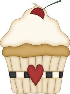 Say I Love You With Cupcakes cupcake - printable                                                                                                                                                     Mais