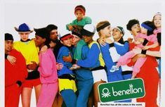 Who remembers the United Colors of Benetton ads from the 80's?