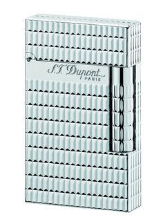 S.T. Dupont Ligne 2 Lighter - Model    016927 - Silver - Contemporary  Diamond Heads b6b8949c674