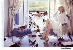 Salvatore Ferragamo Ad Campaign Spring/Summer 2010 Shot #2