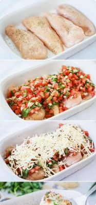 Salsa Fresca Chicken Recipe in casserole Dish | My Food Recipes