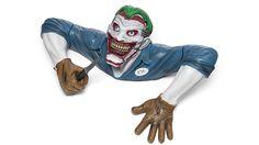Half Of The Joker's Torso Is The Creepiest Lawn Ornament Ever