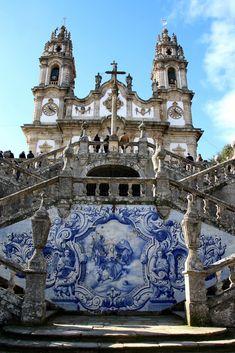 Santuário de Nossa Senhora dos Remédios - Mistura de estilos Barroco e Rococó
