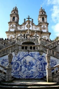 Church of our Lady of the Remédios style Baroque and Rococo #Portugal
