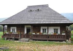 buzau Romania old pictures traditional romanian house rural romanians Village House Design, Village Houses, A Frame House Plans, Rural House, Farm House, Vernacular Architecture, House Inside, Wooden House, Dream Home Design