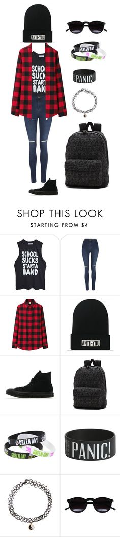"""Dont really care"" by krys-imvu on Polyvore featuring George, Uniqlo, Converse, Vans, Accessorize and Chicnova Fashion"