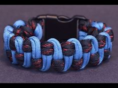 Make the Wide Slithering Snake Paracord Survival Bracelet - Bored?Paracord! - YouTube