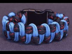 Make the Wide Slithering Snake Paracord Survival Bracelet - Bored?Paracord! - YouTube