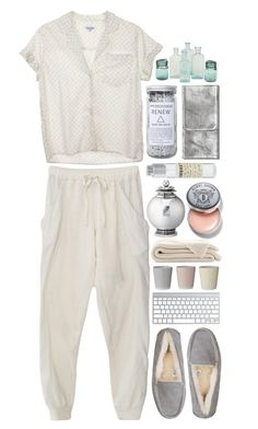"""""""clean & fresh"""" by brixxia ❤ liked on Polyvore featuring Clu, Steven Alan, UGG Australia, Georg Jensen, Bobbi Brown Cosmetics, Smashbox, Herbivore Botanicals, Bloomingville and Le Labo"""