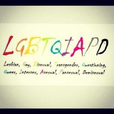 #lgbtqiapd  note to self: not for the content analysis but a helpful side note for the paper