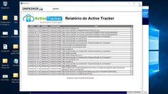 Relatório Active Tracker Server da Wave Corporate Software. Saiba tudo o que seus funcionários acessam na empresa.