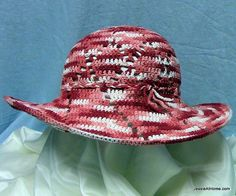 Free-Pattern-Cochet-Shine-On-Sun-Hat-By-Jessie-At-Home by JessieAtHome, via Flickr