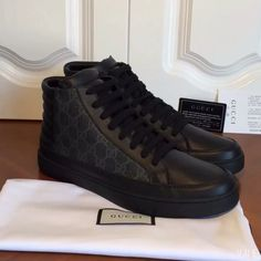 Gucci man shoes high top sneakers a8d6f685cad