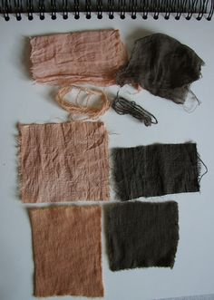 dyeing with spruce cones, I like the grey especially  found at tread gently on the earth.