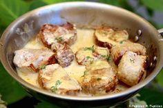 Filet Mignon With Mustard - recette - - Et Yemekleri - Las recetas más prácticas y fáciles Pork Recipes, Cooking Recipes, Healthy Recipes, Filet Migon, Food Porn, Comfort Food, Food Inspiration, Love Food, Food And Drink