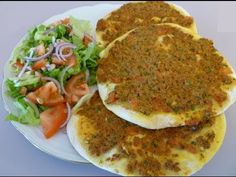 Кулинарная книга Алии: 622. Lahmacun (турецкая кухня) Muffins, Tacos, Mexican, Ethnic Recipes, Breads, Food, Flat Bread, Bakken, Turkish Pizza