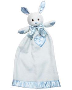 My Sweet Dreams Baby - Personalized Baby Lovies - Blue Bunny (http://www.mysweetdreamsbaby.com/securityblankets/lovey.htm)