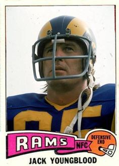 Jack Youngblood Los Angeles Rams Sport Football, Football Cards, Football Helmets, Football Season Starts, Nfl Rams, Sports Personality, Olympic Sports, Vintage Football, Sports Photos