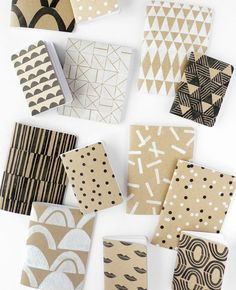 Creative workshop in Los Angeles: Intro to Block Printing - Patterned Notebook Workshop with Cotton & Flax!