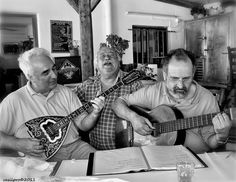 The bouzouki is a Greek musical instrument that was brought to Greece in the 1900s by immigrants from Asia Minor, and quickly became the central instrument to the rebetika genre and its music branches. Musicians in tavernas will play just for a glass of retsina.    Photo by Vasilis Protopapas Photography