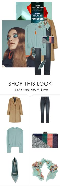 """""""Metanoia"""" by chebear ❤ liked on Polyvore featuring Joseph, Mother, Acne Studios, Edie Parker, Sergio Rossi, Pashma and Helix & Felix"""