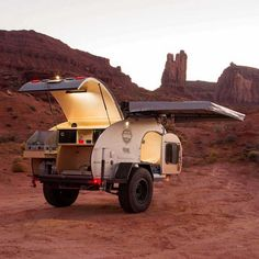 Rent a monster off-road trailer or souped-up mini-van for your next adventure.