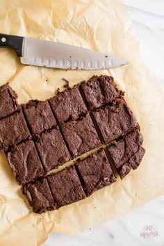 Healthy fudgy browni