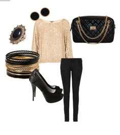 Perfect night-out outfit