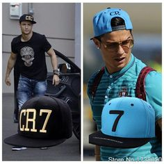 2016 Fashion New Style Cristiano Ronaldo CR7 Cap Snapback Baseball Hat Free Shipping