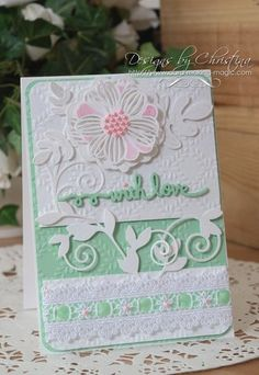 """""""With Love"""" Card"""