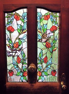 Would you like a custom-made stained glass window for your home or business? Contact me @ neilneilorangepeeldesigns.com