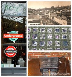 Bill Speidel's Underground Tour, Seattle - a huge tourist trap. Light-hearted walking tour of Seattle's underground.  The underground a little underwhelming. Maybe do on a rainy day.