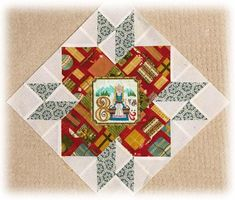 EightMaids Star Blocks, Miniature Quilts, Christmas Star, 12 Days, Big Day, Decorating Your Home, Miniatures, Embroidery, Stitch