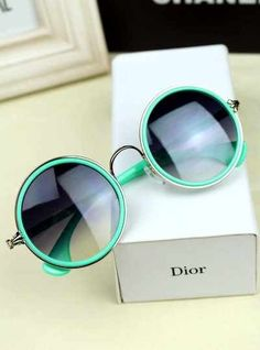 Mint green DIOR sunglasses