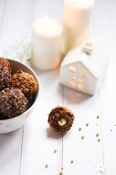 Rochers praliné comme ceux de l'ambassadeur - idée recette pour Noël http://leaf-blog.com/