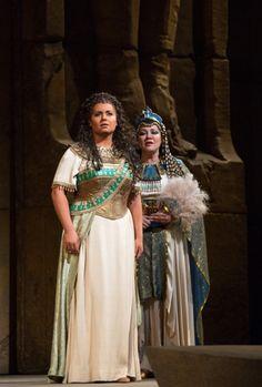 Olga Borodino and Liudmyla Monastyrska. Verdi's Aida.