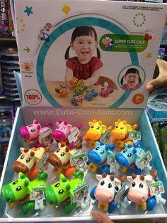 ของเล่นเด็ก วัวไขลาน ชมพู** เหลือง** น้ำตาล ** ฟ้า * เขียว ** ขาว ~ 59.00 บาท >>