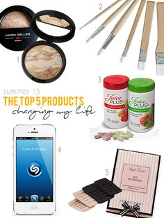 These products are rocking my life this summer.