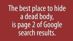 why page 1 rank is important to achieve from a #SEO... simple and true statement