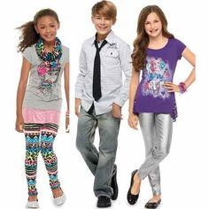 Boys' and girls' fashion brands