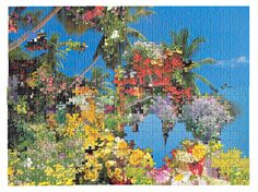 artwork made from various puzzles by Kent Rogowski