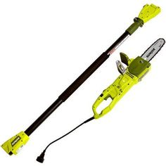 Sun Joe 8 in. Amp Electric Pole Chain Saw Electric Saw, Electric Power, Pole Chain Saw, Safety Switch, Moroccan Interiors, Garden Maintenance, How To Make Light, Chainsaw, 2 In