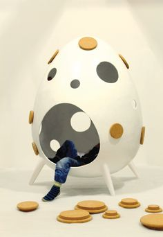 Ta.Ta. Unconventional Design For Kids: COCOON, comodo rifugio!