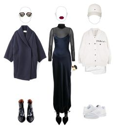 """""""Changes in a day"""" by astrro on Polyvore featuring Nili Lotan, Burberry, Reality Studio, Tommy Hilfiger, Jacquemus, Alexis Bittar, Christian Dior and NIKE"""