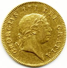 1804 UNITED KINGDOM, GORGE III, GOLD, HALF GUINEA COIN 1stsovereign.co.uk